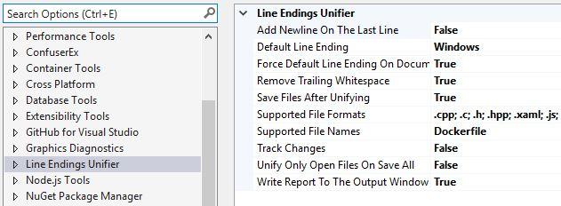 Line Endings Unifier - Visual Studio Marketplace